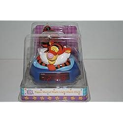 Disney's Winnie the Pooh Tigger Musical Night-Light Alarm Clock
