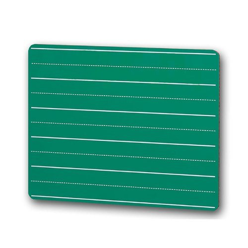 * CHALK BOARD 9 X 12 LINED GREEN