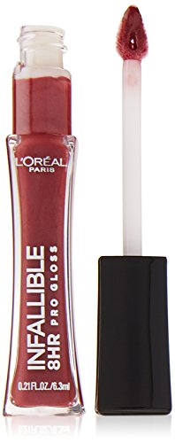 L'Oréal Paris Infallible 8 HR Pro Gloss, Sangria, 0.21 fl. oz.