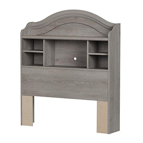 39'' Twin Bookcase Headboard, Sand Oak (South Shore Oak Headboard)