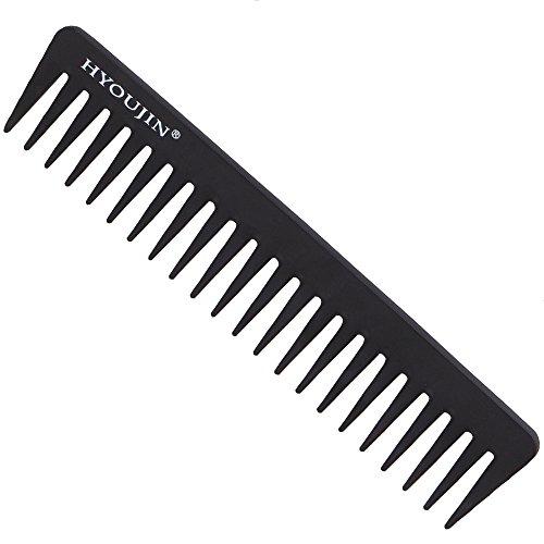 carbon fiber beard comb - 2