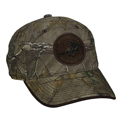 Winchester Realtree Extra Horse and Rider Brown Patch Hat ()