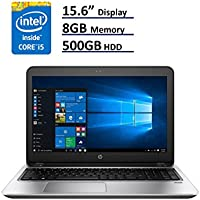 2017 HP ProBook 450 G4 Business Ultrabook Laptop: 15.6-Inch (1366x768) | Intel Core i5-7200U | 500GB HDD | 8GB DDR4 | DVD-RW | Windows 10 Home