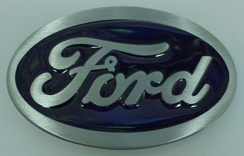 Ford Logo 3D Oval Belt Buckle