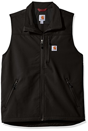 (Carhartt Men's Denwood Vest, Black, X-Large)
