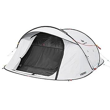 Quechua 2 Seconds Easy III Fresh & Negro 3 Man impermeable tienda desplegable de camping