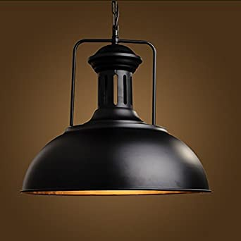 SuspensionFrideko Rustique Domebol Industrie Vintage Avec Lampe KlJTcF1
