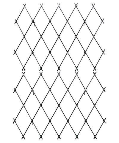 (BestNest Set of 2 Achla Designs Wall Mounted Lattice Trellises )