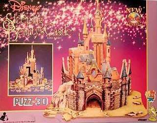 PUZZ-3D Disney's Sleeping Beauty Castle; 224 Pcs - Sleeping Beauty Jigsaw Puzzle Book