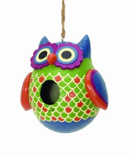 (Spoontiques Owl Birdhouse)
