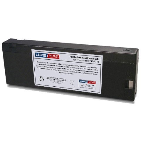 12V 2.3Ah PC - Compatible Replacement Battery for General Electric(GE) CG-9806 Camcorder