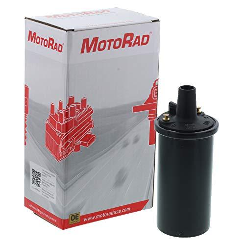MotoRad 4IC558 Ignition Coil | Fits select Ford Bronco, E-100, E-250, E-350 Econoline, F-150, F-250, F-350, LTD Crown Victoria, Mustang, Thunderbird, Jeep Cherokee, CJ5, Lincoln Continental, Town Car ()