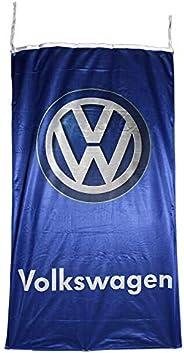 Volkswagen Vertical Flag Banner 3 X 5 ft