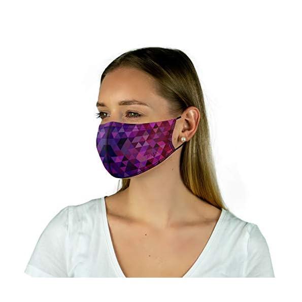 PAC-Lightweight-2er-Pack-Premium-Community-Maske-Mund-Nasenmaske-Behelfsmaske-superdnne-Alltagsmaske-Waschbar-bis-90-Einfach-aufziehen-OEKO-TEX-100-Wiederverwendbar