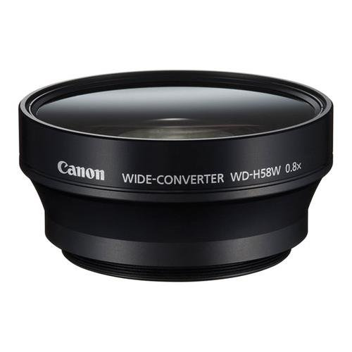 Canon Wide Converter WD-H58W for XF105, XF100, XA10 Professional Camcorder
