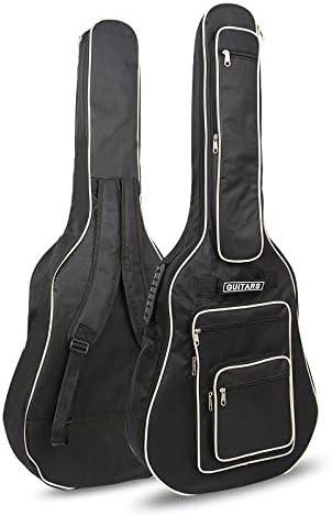 CAHAYA 40 41 Inch Acoustic Guitar Bag Waterproof Dual Adjustable Shoulder...