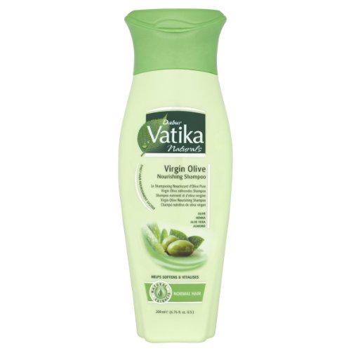 (Dabur Vatika Virgin Olive Nourishing Shampoo, 6.76 Fluid)
