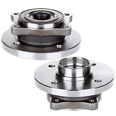 FEIPARTS Wheel Hubs 513226 fit for 2002-2006 Mini Cooper Bearing Assembly x2: Automotive