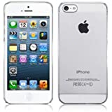 Gadgetshut™ - Crystal Clear Hard Back Case with Free Screen Protector for iPhone 5 / 5S