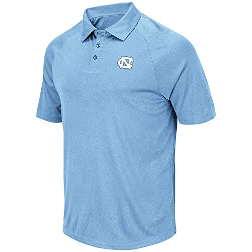 - Mens UNC North Carolina Tar Heels Wellington Polo Shirt - L