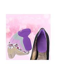 Wispun High Heel Shoe Silicone Gel Cushions Padded Heel Grips Care Heel Snugs Heel Liners