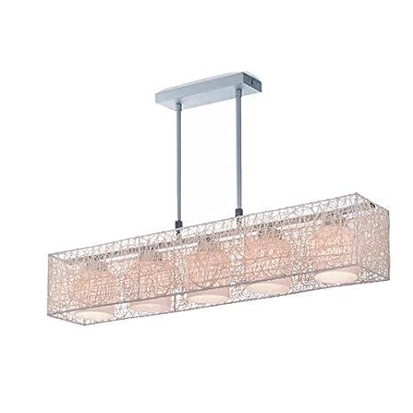 Cristalrecord 99-265-81-111 Lámpara Moderna de Techo Colgante, 86 X 15 X 16 X 15 Mm, Crema