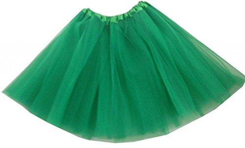 organza en et Profond Tutu ballet adulte de Mini Vert Femme dentelle jupe wxOtBqSt7