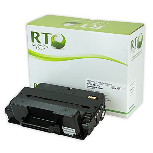 Renewable Toner Samsung MLT-D205L D205L Toner Cartridge Compatible High Yield 5k for SCX-48334835 SCX-5637563957375739 ML-3310331237103712
