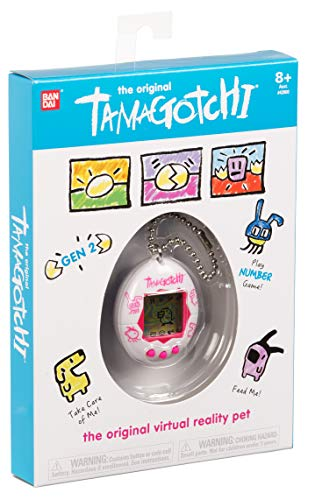 Tamagotchi Electronic Game, White/Pink by Tamagotchi (Image #2)