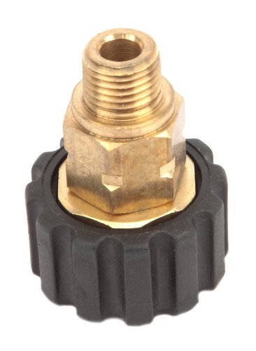 Forney 75107 Pressure Washer Accessories, Male Screw Coupling, M22F to 1/4-Inch Male NPT by Forney