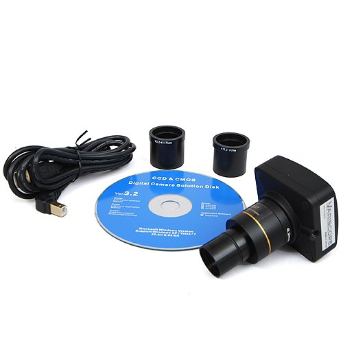 Variscope 3.0 MP USB2.0 Microscope Digital Camera and Software, Compatible with Windows XP/Vista/8 and Mac OS 10.6 & Up