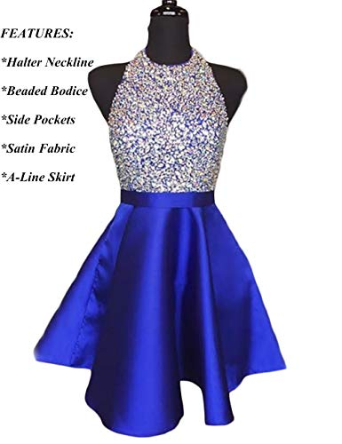 Prom formal dress halter