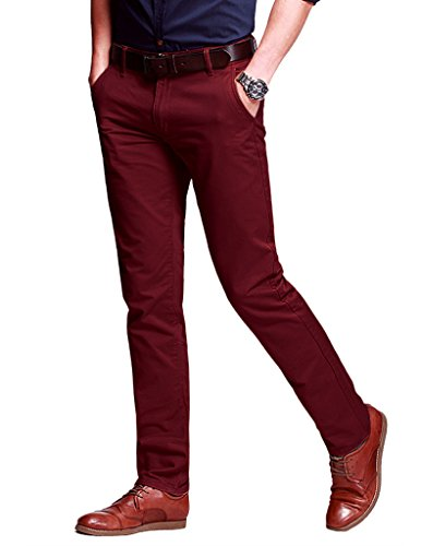 red mens pants - 9