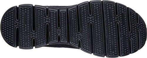 Nero mujer tela para Zapatillas bbk de Skechers Black 1x7wX4c