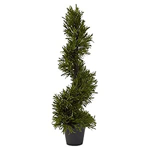 Nearly Natural Rosemary Spiral Topiary 66