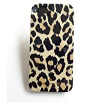 Kate Spade iPhone 5 Resin Hard Case(Brown Leopard Pattern)