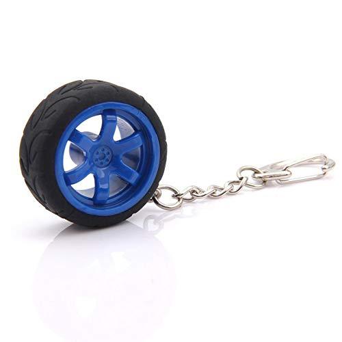 Wall of Dragon Pretty Car-Styling Popular Creative Car Auto Metal Mini Wheel Rim Tyre Key Chain Keyring