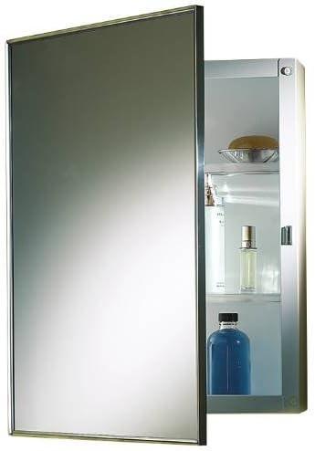 PROPLUS 592047 Recessed Swing-Door Medicine Cabinet