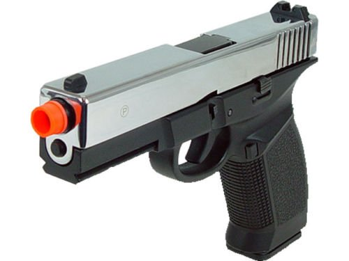 hfc dark hawk full metal gun gas powered blowback airsoft pistol with case(Airsoft Gun) by HFC