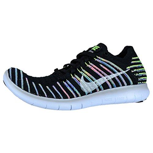 Nike 831070-003, Zapatillas de Trail Running para Mujer Negro (Black / White / Volt / Blue Lagoon)