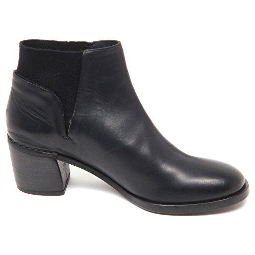 Boot Scarpe Del E7744 Black Woman Shoe Carlo Nero Tronchetto Donna qwFS01