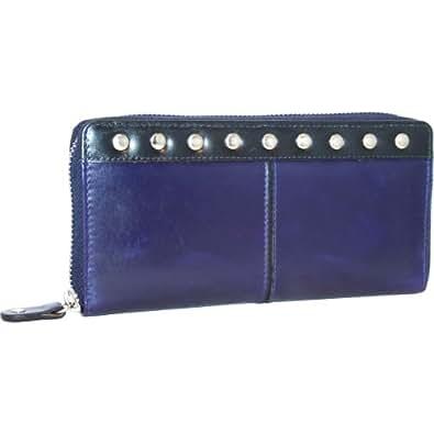 Nino Bossi Zip Around Wallet (Viola)