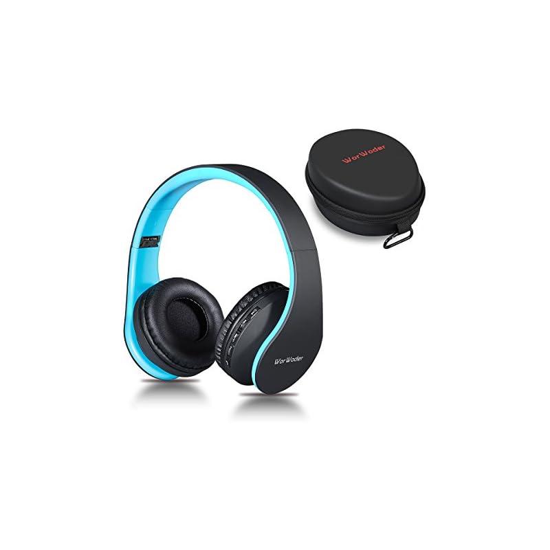 Bluetooth Headphones Over Ear, WorWoder