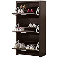 Coaster 900604 Home Furnishings Shoe Cabinet, Black