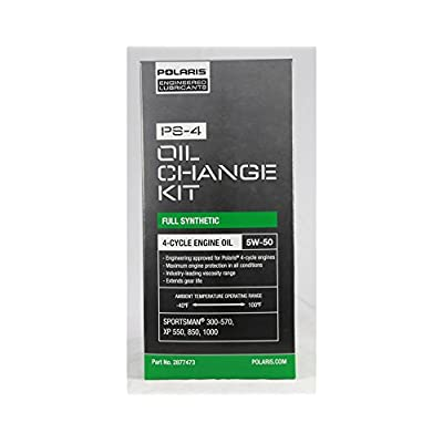 POLARIS PS-4 OIL FILTER CHANGE KIT SPORTSMAN ATV RANGER 330 400 500 550 850: Automotive