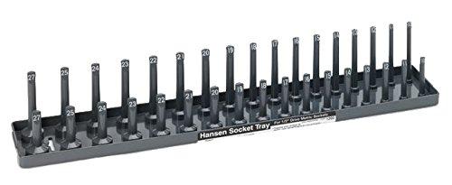 Drive Metric Socket Holder - Hanson Global, Inc. 1202 1/2-Inch Drive Metric Socket Holder