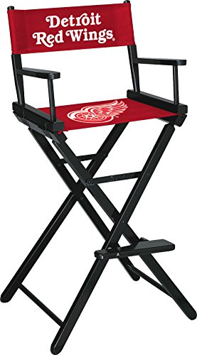 Imperial Officially Licensed NHL Merchandise: Directors Chair (Tall, Bar Height), Detroit Red Wings by Imperial