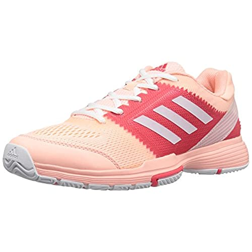 adidas Women's Shoes | Barricade Club Tennis, Haze Coral/White/Core Pink,  (7 M US)