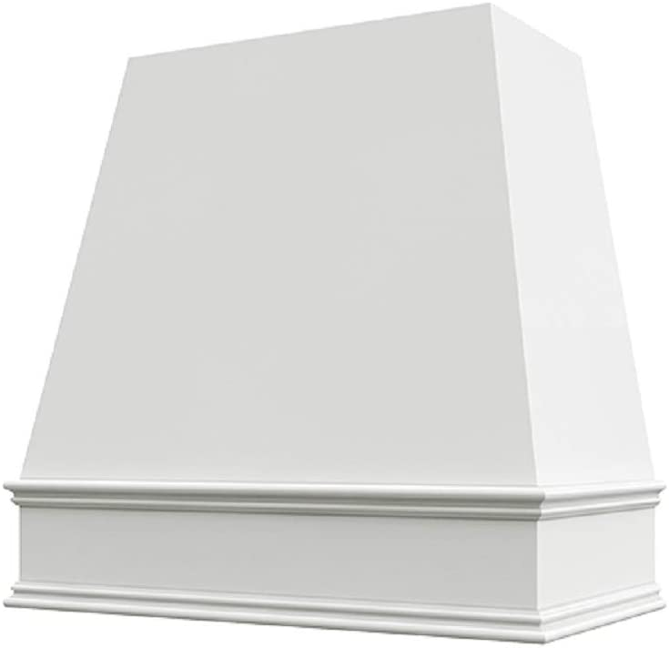 Wholesale Wood Hoods Tapered Style Hood Wooden Chimney Range Wall Mounted