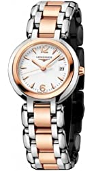 Longines Prima Luna Automatic 18k Rose Gold and Stainless steel Women's Watch
